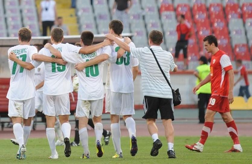 Фото ФК Ворскла, победа в Бухаресте.