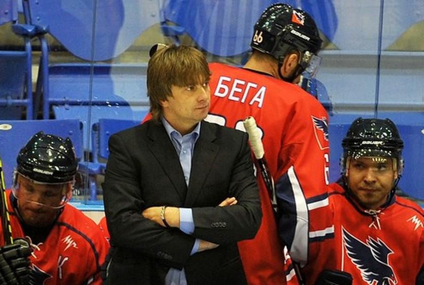 Дмитрий Марковский, фото ХК Беркут