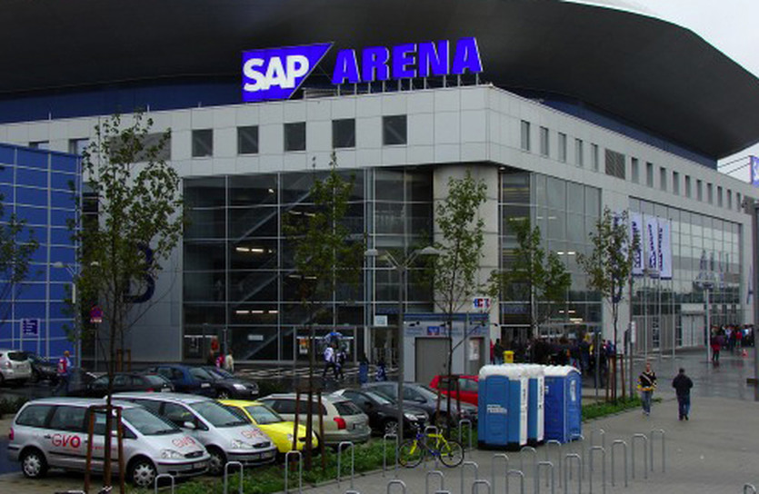 SAP Arena, Getty Images