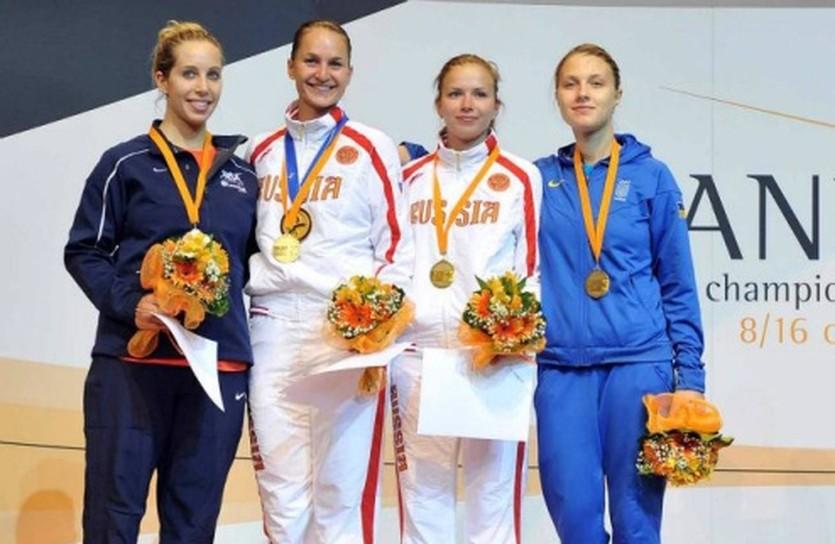 Мариэль Загунис, Софья Великая, Юлия Гаврилова и Ольга Харлан, nffu.org.ua
