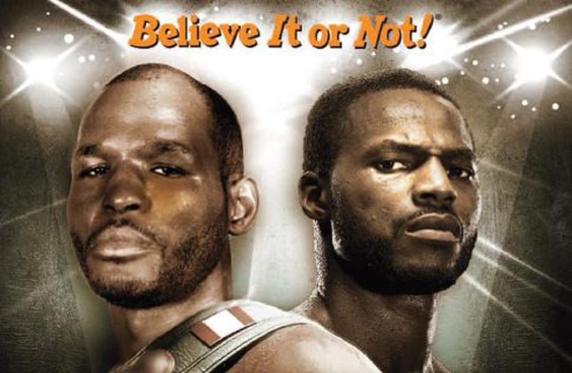 фрагмент постера встречи Бернард Хопкинс - Чэд Доусон, boxrec.com