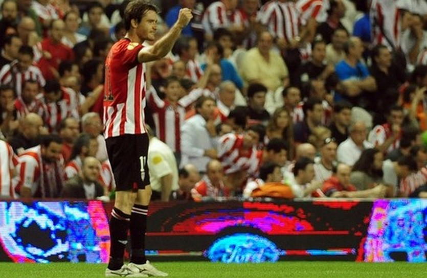 Габилондо стал автором второго гола, Getty Images