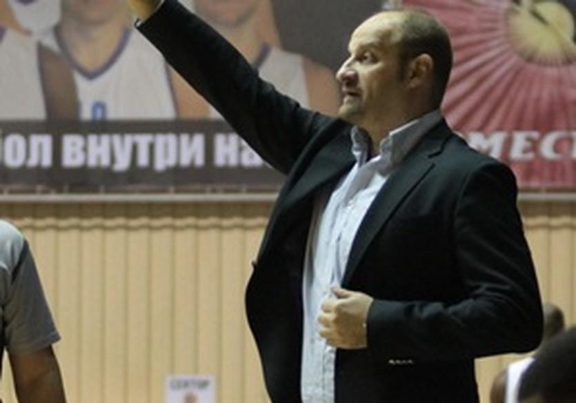 Звездан Митрович, фото БК Одесса