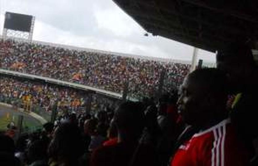 Ганские болельщики на стадионе, goal.com