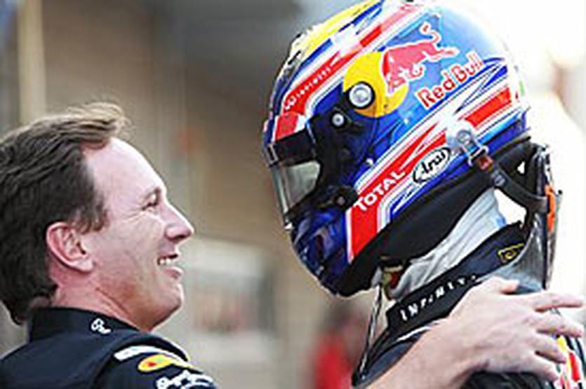 Хорнер и Уэббер, autosport.com