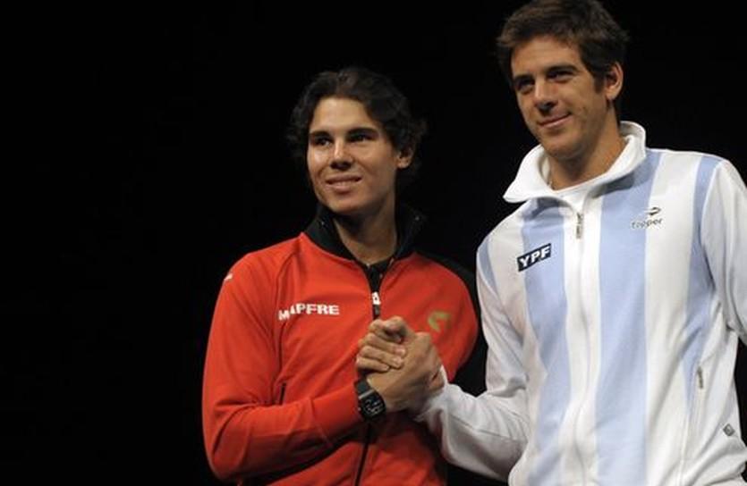Рафаэль Надаль и Хуан Мартин дель Потро, Getty Images