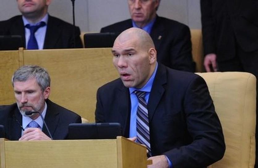 Николай Валуев в парламенте, sports.ru