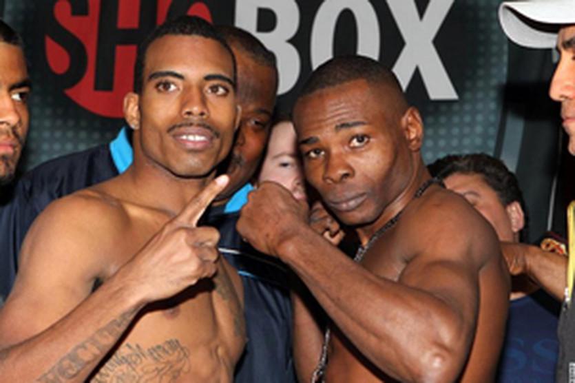 Рамос - Ригондо: взвешивание, boxingscene.com