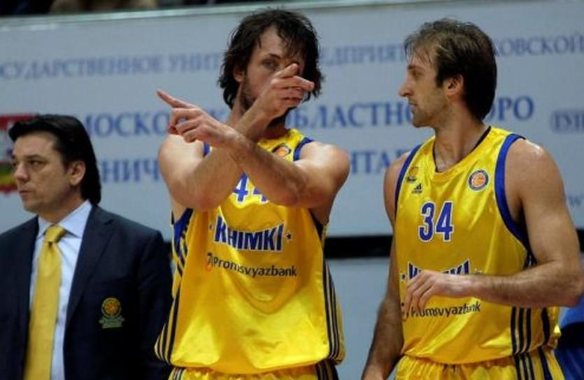 Звездные легионеры Химок - Мэтт Нильсен и Зоран Планинич, фото БК Химки