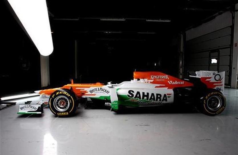 Формула-1. Форс Индия: новый болид представлен публике