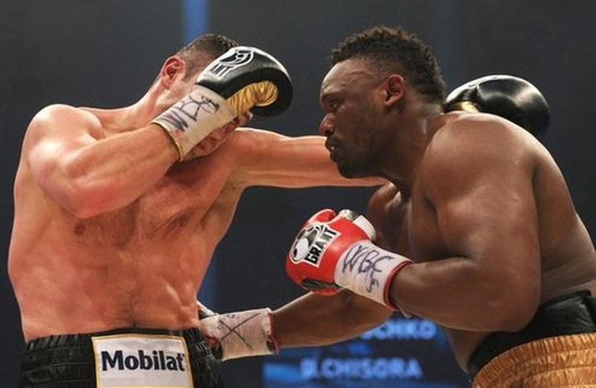 Дерек Чисора и Виталий Кличко, Getty Images