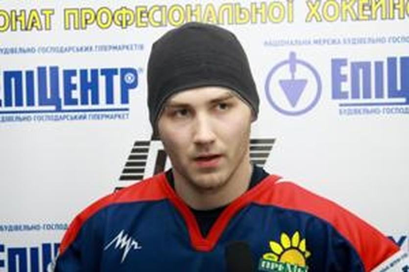 Денис Петрухно, фото ХК Акулы