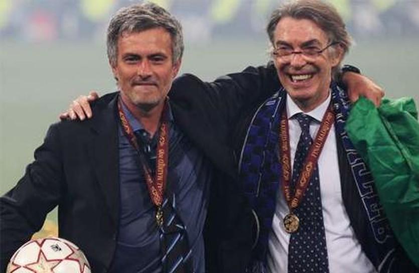 Моуриньо и Моратти, Goal.com