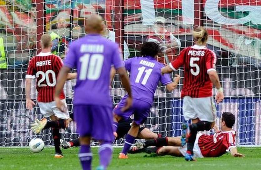 Амаури забивает Милану, Getty Images