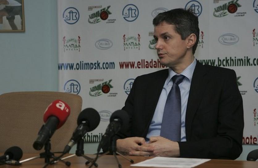 Зоран Мартич, фото БК Химик