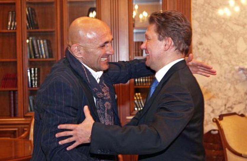 Лучано Спаллетти и Алексей Миллер, fc-zenit.ru