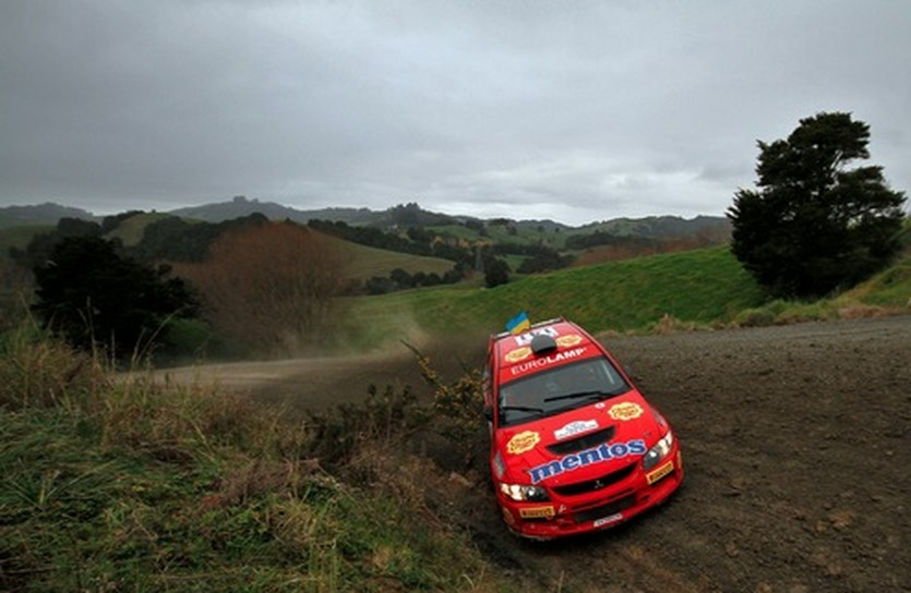 Mentos Ascania Racing финиширует на Brother Rally New Zealand