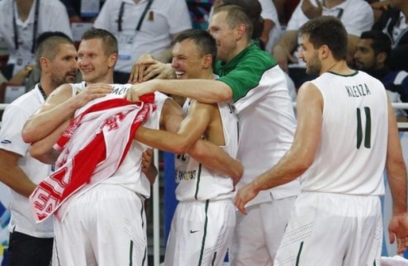 Литва на Олимпиаде, фото Reuters