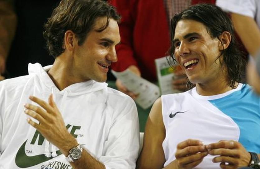 Роджер Федерер и Рафа Надаль, blogspot.com