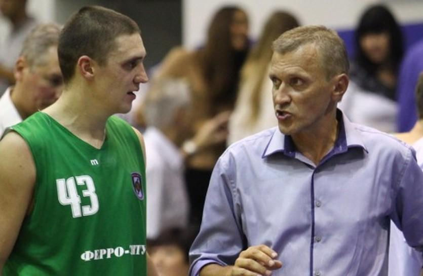 Кирилл Большаков и Артем Буцкий, фото БК Ферро-ЗНТУ