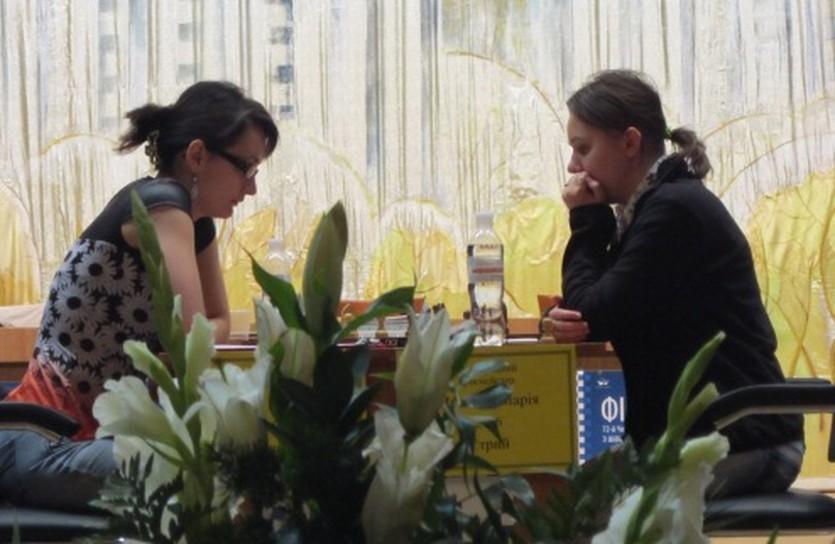 Шахматы. Результаты шестого тура женского чемпионата Украины