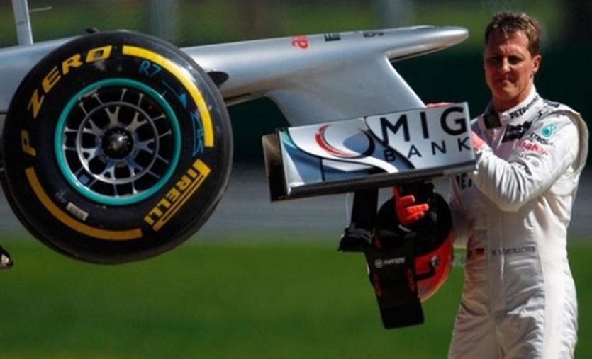 Михаэль Шумахер, motorward.com