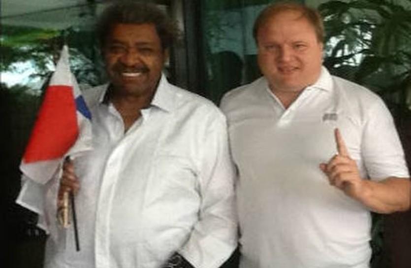 Владимир Хрюнов и Дон Кинг, boxko.ru