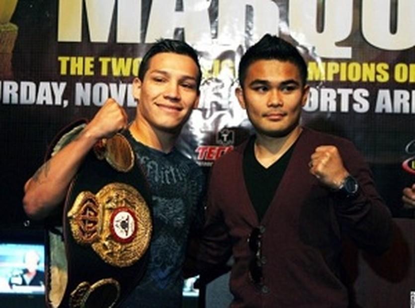 Маркес и Вилория, boxingscene.com