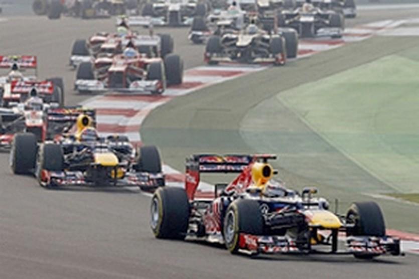 Себастьян Феттель лидирует в Индии, autosport.com