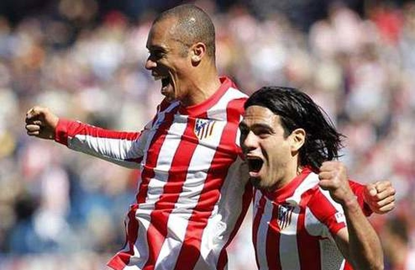 Миранда и Фалькао, goal.com
