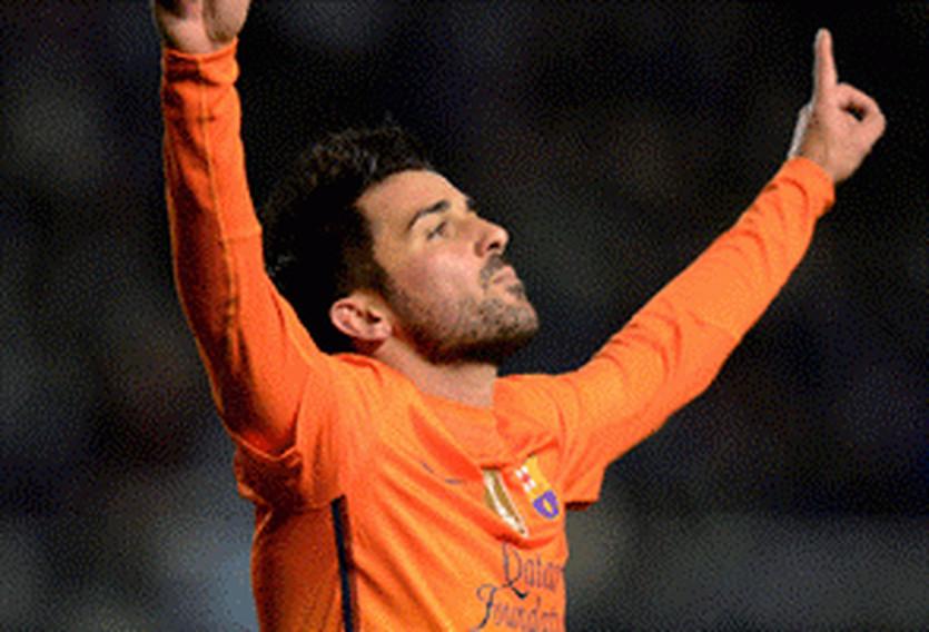 Давид Вилья, football-espana.net