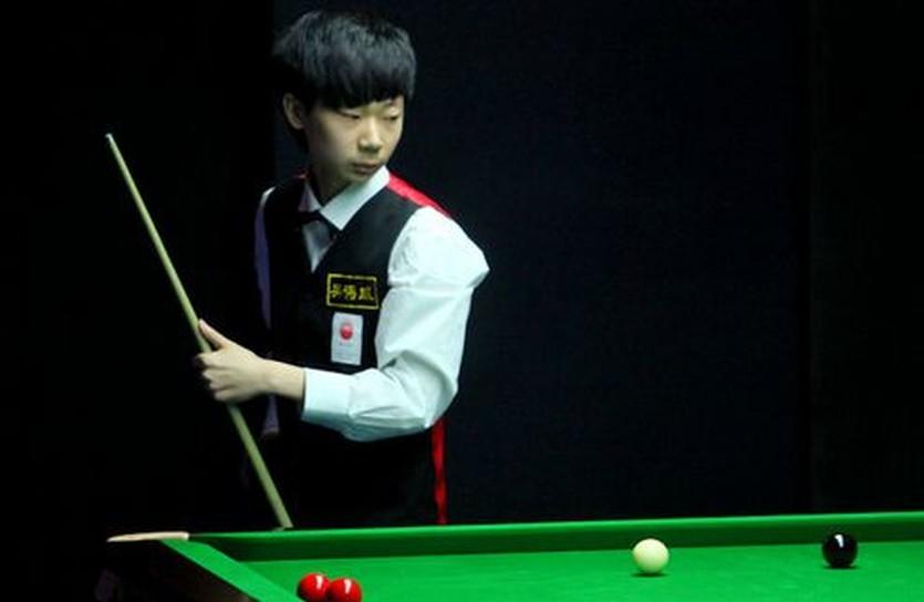 Лю Хаотьян вправе собой гордиться, фото worldsnooker.com