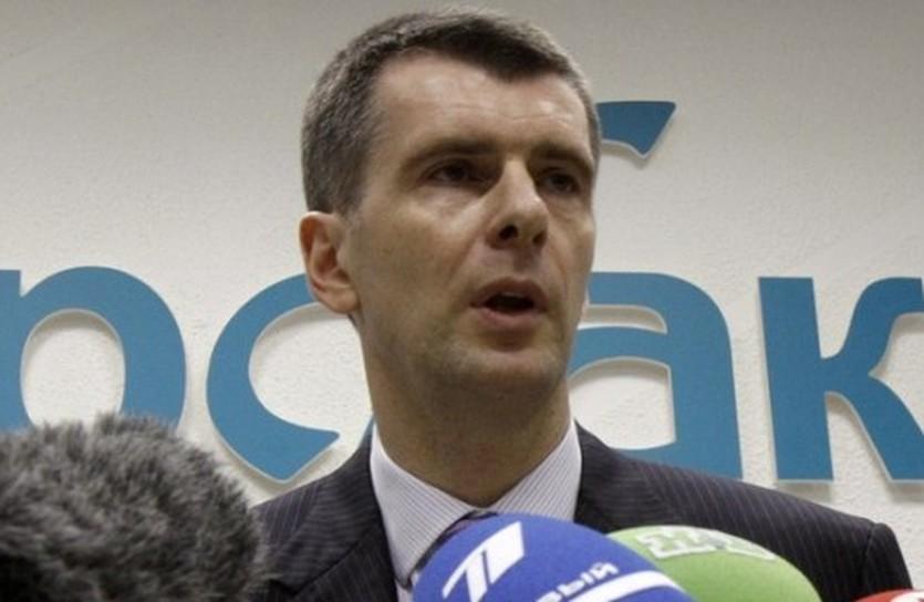 Михаил Прохоров, Reuters