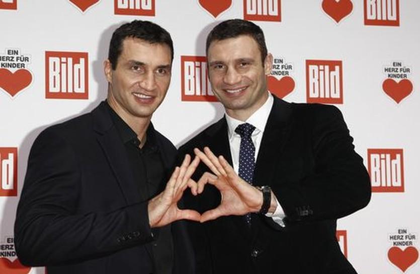 Виталий и Владимир Кличко, Getty Images