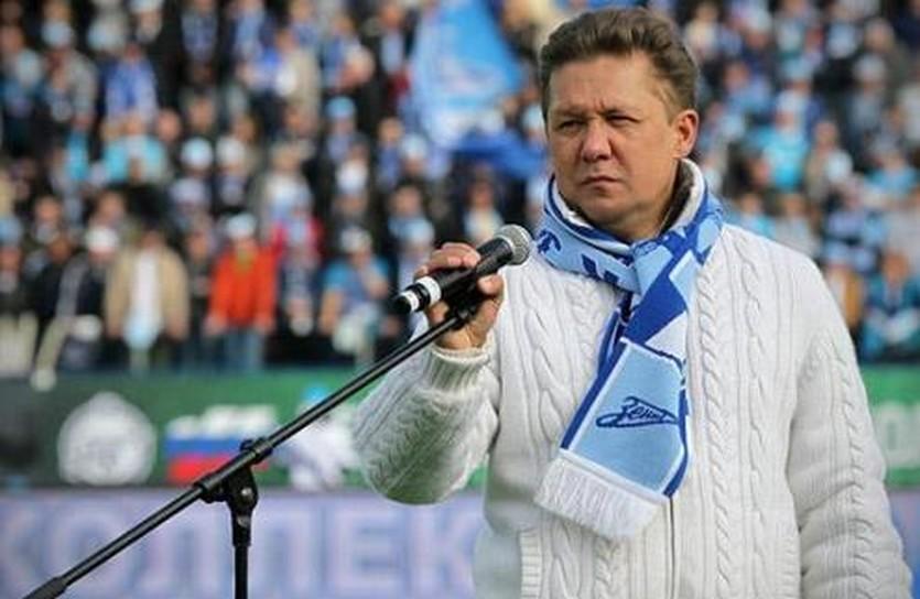 Алексей Миллер, ФК Зенит