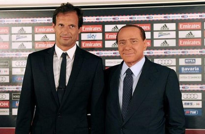 Аллегри и Берлускони, sport.sky.it