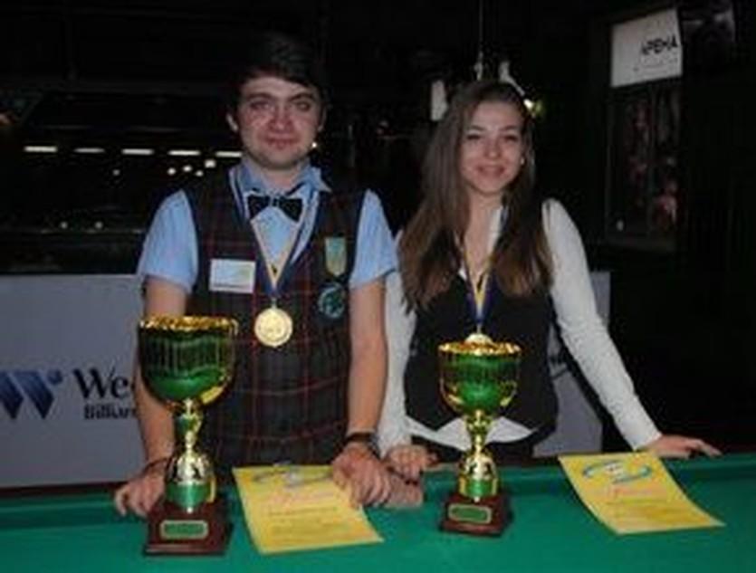 Артем Кошевой и Анастасия Ковальчук, dsmsu.gov.ua