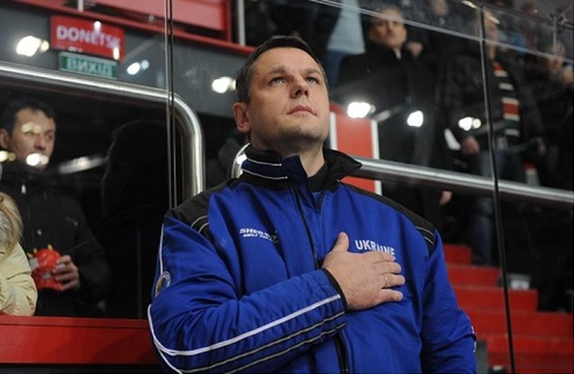 Поводов для радости у Александра Годынюка сегодня не было, iihf.com