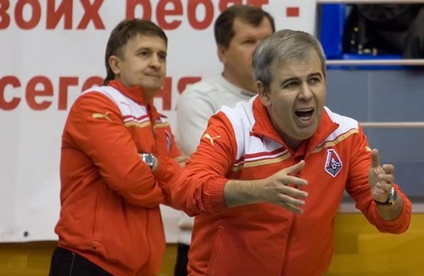 Павел Пикалов (слева), фото МФК Локомотив