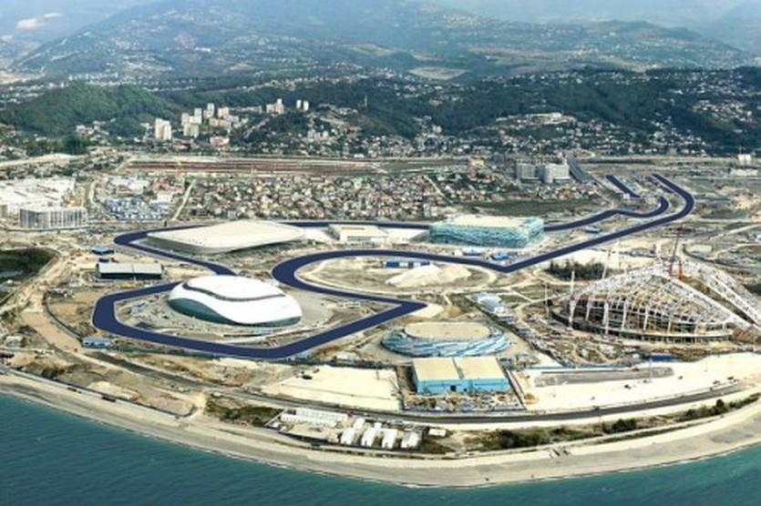 Проект автодрома в Сочи, motorsport.com