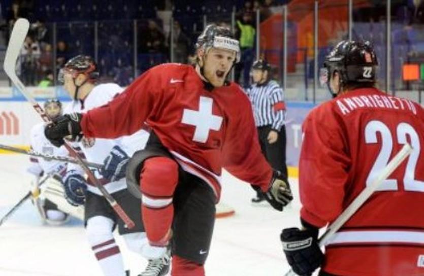 Швейцарцы едва не сотворили сенсацию, фото IIHF