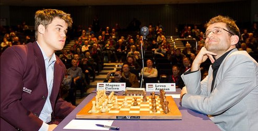 Магнус Карлсен и Левон Аронян: каждый на своем месте, vg.no
