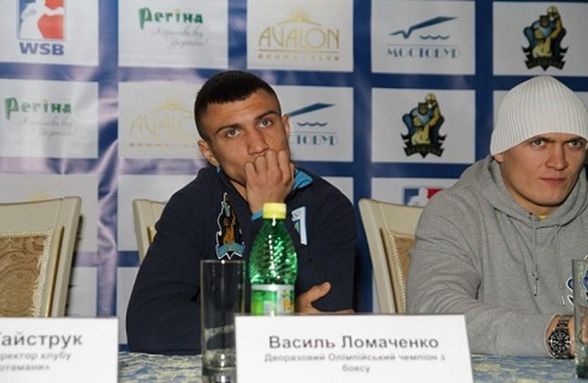 Василий Ломаченко и Алекандр Усик, фото Михаила Грабовского