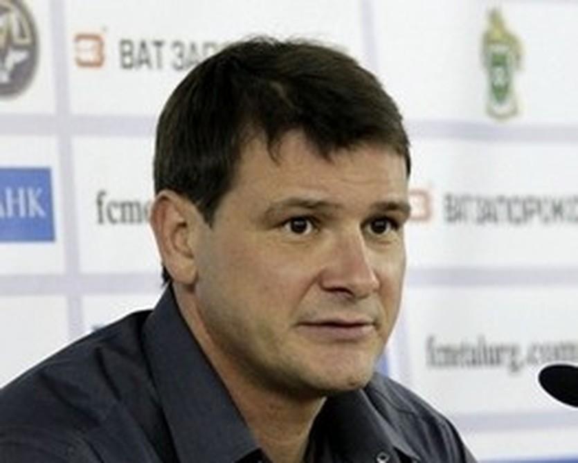 Сергей Зайцев, фото ФК Металлург З