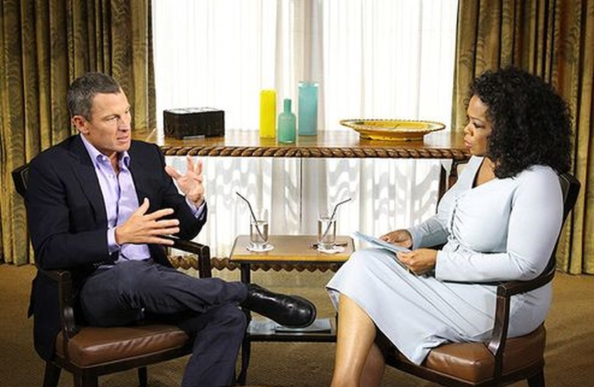 Лэнс Армстронг и Опра Уинфри, Getty Images