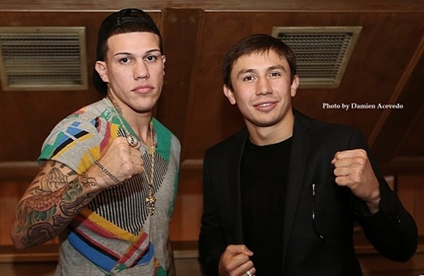 Головкин и Росадо, boxingscene.com