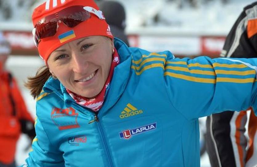 Вита Семеренко побежит эстафету, biathlon.com.ua