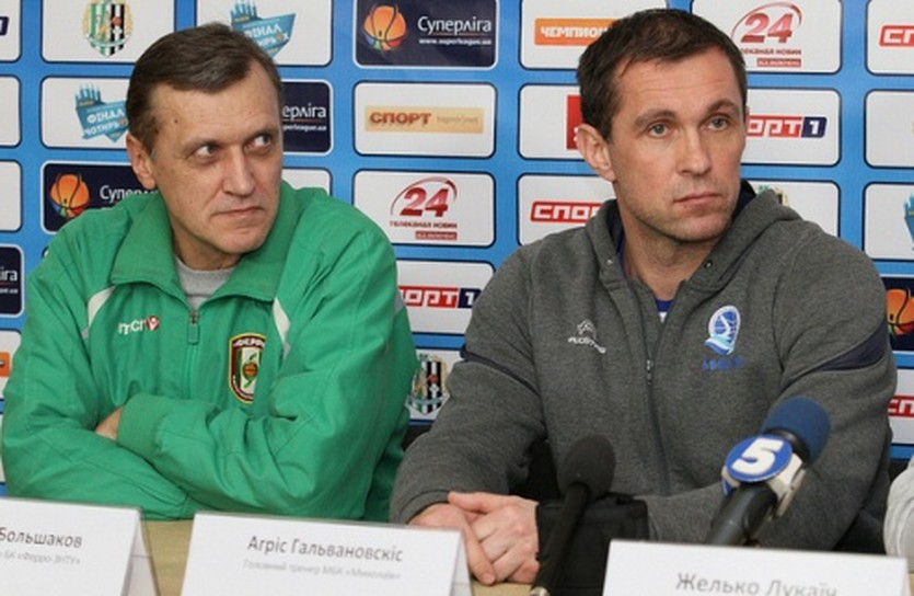 Агрис Галвановскис и Кирилл Большаков, фото superleague.ua