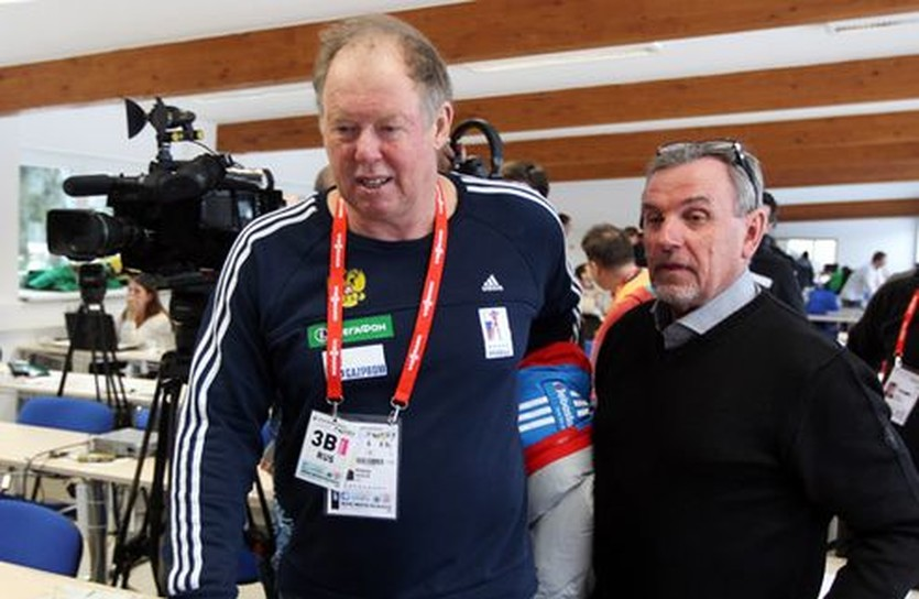 Вольфганг Пихлер (слева), biathlonrus.com