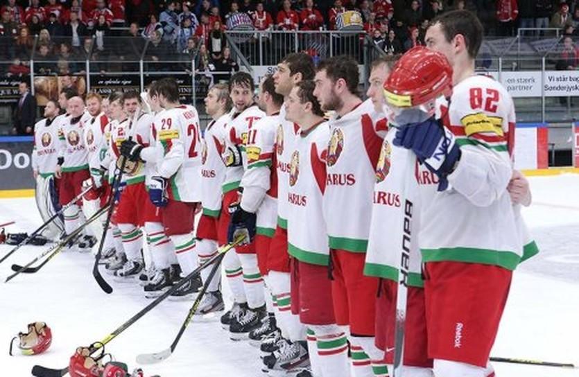 Сборная Беларуси в Войенсе, фото IIHF
